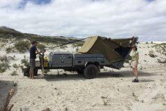 Setting up your Eureka off-road camper trailer