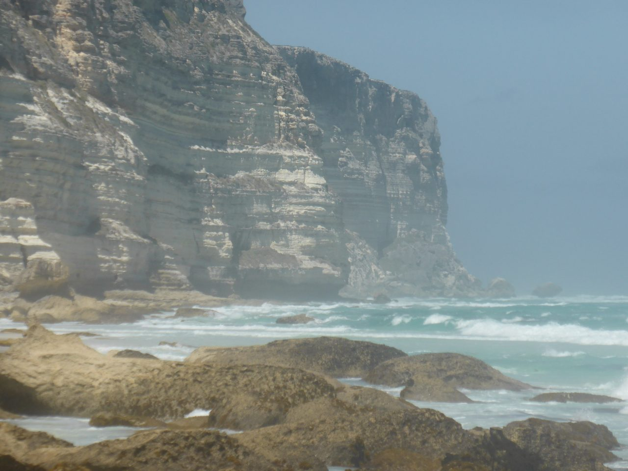 Baxter Cliffs. The start of the Great Australian Bight